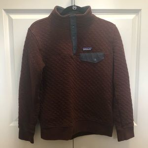 Patagonia Organic Cotton Quilt Snap Pullover